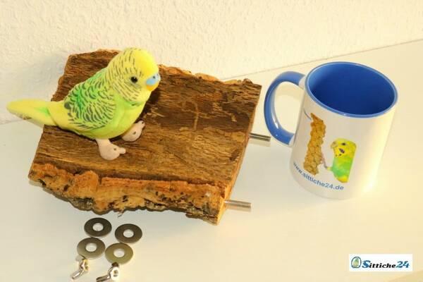 Kork für Vogelkäfige und Volieren als Vogelsitze.
