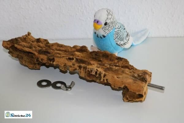 Vogelsitzbrett aus Kork - unsere Naturkorkprodukte sind versandfertig etwa für Münster, Schwäbisch-Gmünd oder Hamburg.
