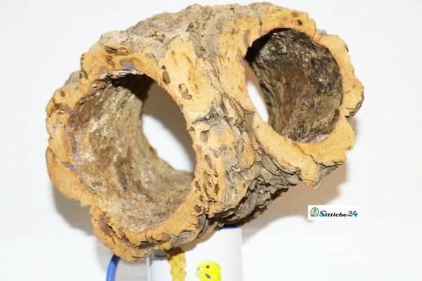 Lemming Käfig Ausstattung. Korkröhren sind prima Zubehör für Nagerkäfige. Lemminge mögen Korkröhren als Versteck und Unterschlupf. Korkröhren sind ideal für den Spiel- und Nagetrieb der kleinen Nagetiere geeignet.