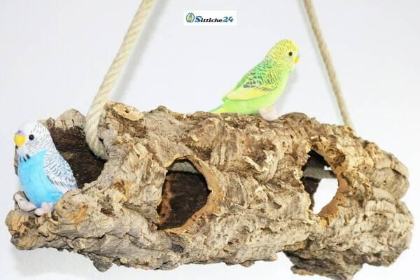 Vogel Schaukel Wellensittiche
